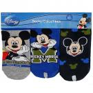 Disney Mickey Mouse Socks [Grey/Blue]