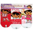 Dora the Explorer Socks [Pink/White]