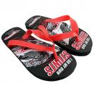 Hot Wheels Flip Flops [Black]