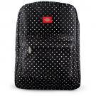 Dickies Backpack [White Polka Dot]