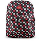 Dickies Backpack [Checkered - Red, Grey, White]