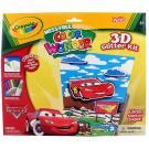 Crayola Cars 3D Glitter Color Wonder